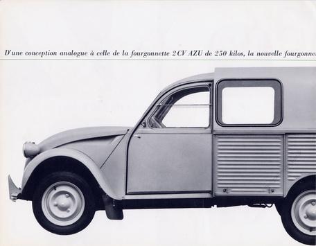 2cv fourgonnette 1963